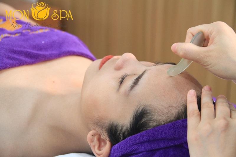 Massage chải thông kinh lạc tại Mỹ Đình