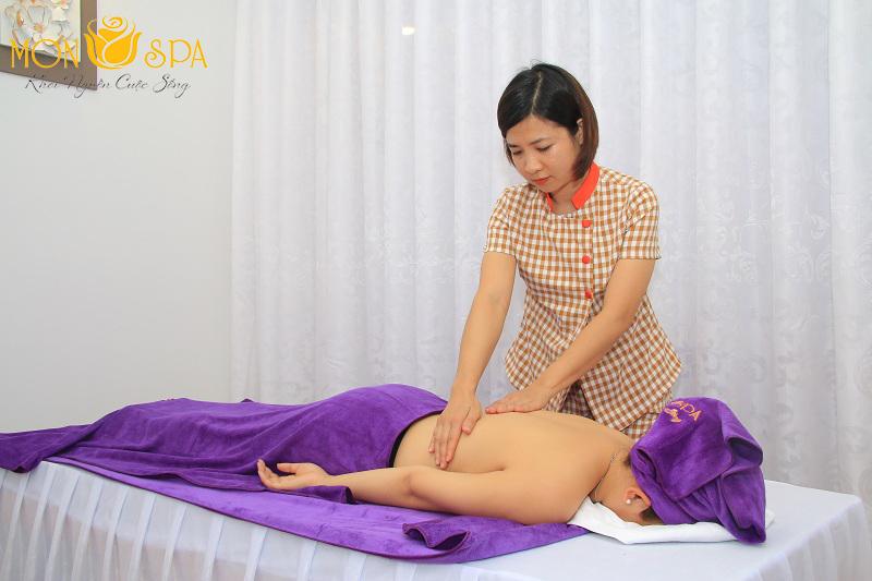 massage toàn thân tại Mỹ Đình