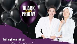 Ưu đãi giảm sâu – Trải nghiệm cả tháng nhân dịp ngày hội mua sắm Black Friday