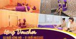 Mon spa Tặng bạn Voucher trải nghiệm miễn phí 03 buổi xông hơi + 01 buổi massage